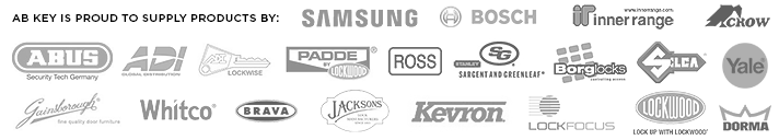 ABKEY proudly supplies security products by Samsung Bosch Whitco Abus Brava Lockwood and many more